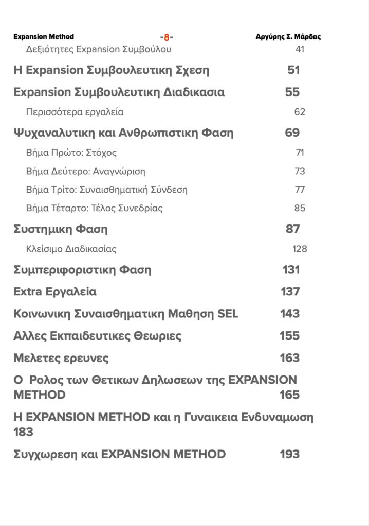 Επαγγελματικό Εγχειρίδιο Expansion Method 3